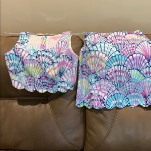 Lilly Pulitzer Skirts - Lily Pulitzer two piece
